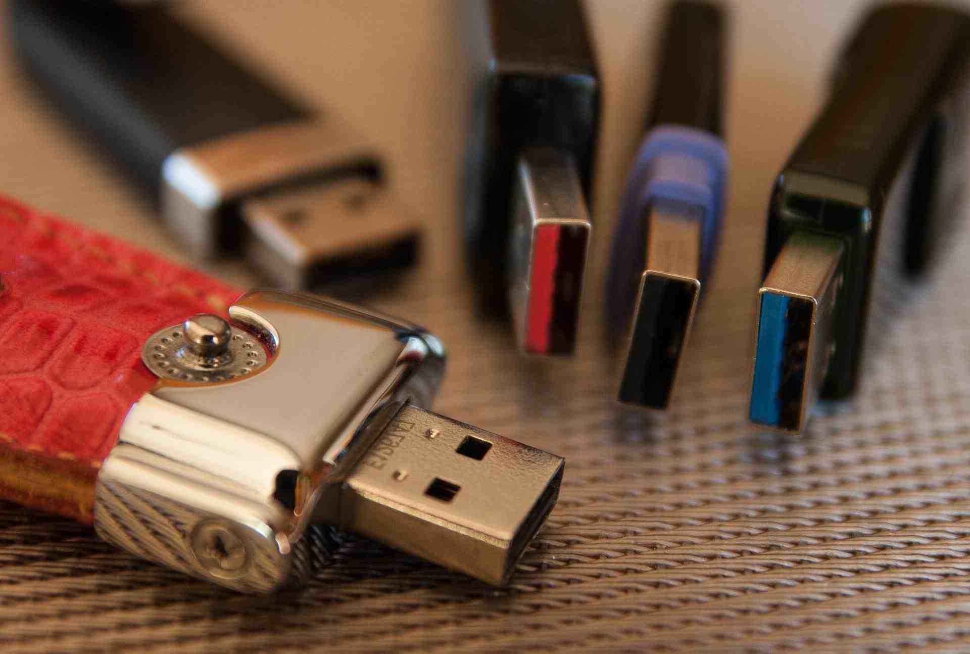 Quelle appareil fonctionne avec un USB de type-C ?